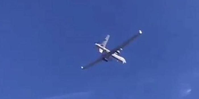 """俄战机逼近""""戏耍""""美军MQ-9 喷射尾流就能让它坠毁"""