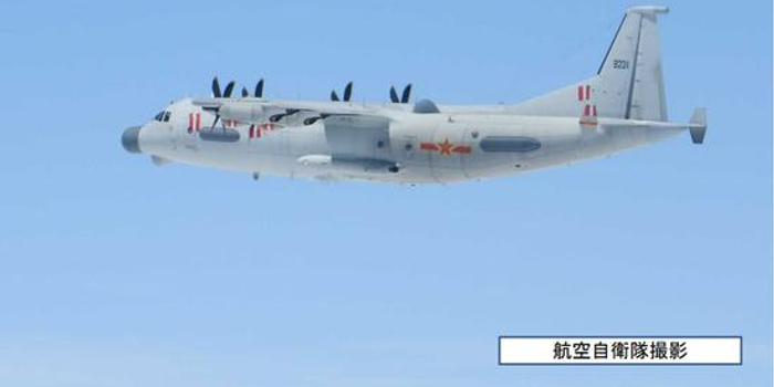 我军机东海太平洋空域执行飞行任务 日战机紧急升空