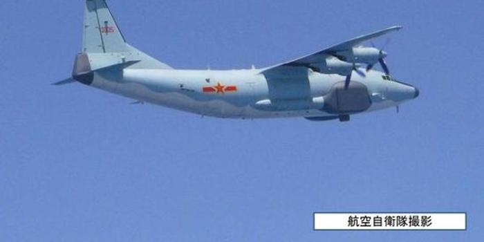 日本进入令和时代后首次拍摄中国军机飞行路线(图)