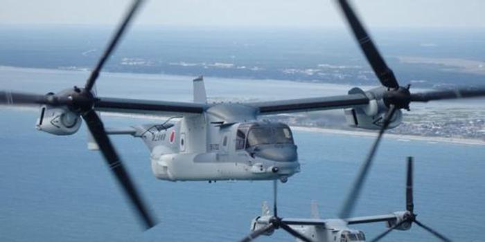 日本購美V22運輸機繼續在美訓練 已推遲交付近1年