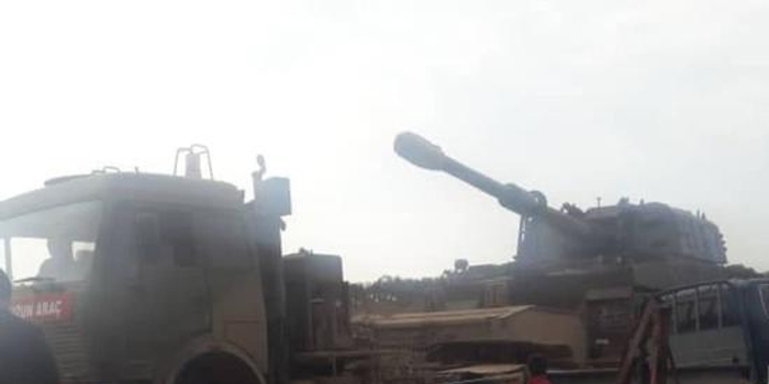 土耳其军队进攻叙利亚政府军 俄军派战机援叙