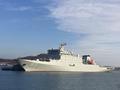 中国海军新一艘军舰入列 以抗倭英雄戚继光命名(图)