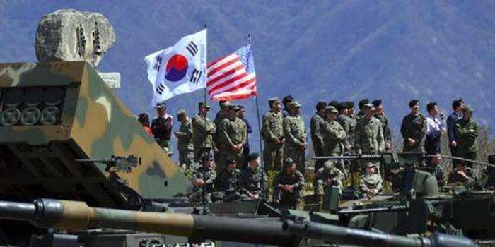 美多名高层人士访韩 商防卫费分担与韩日军情协定