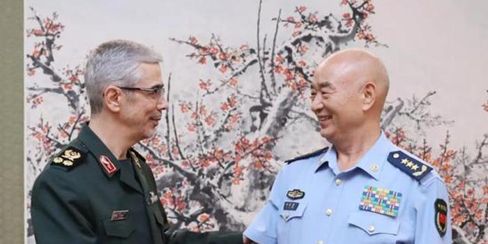 中央军委副主席许其亮会见伊朗军队总参谋长(图)