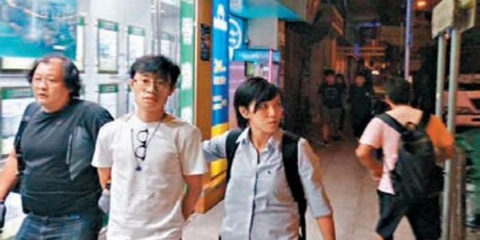 狂徒用手機遙控炸彈襲港警 2人落網照片曝光(圖)