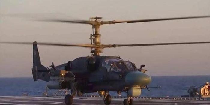 俄舰载版卡52K完成地面测试 但两栖舰却遥遥无期