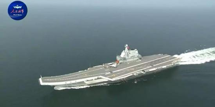 首艘国产航母穿越台湾海峡 有三个细节(图)