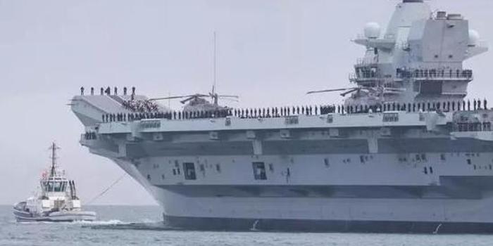 英国新航母又进水 我大校:英军用造船工业根基在坍塌