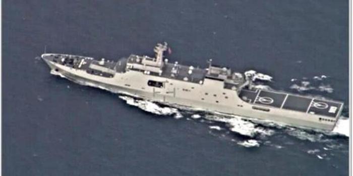 印度军机跟踪中国核潜艇 还拍到7艘军舰过印度洋(图)