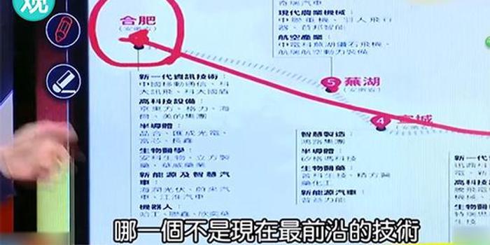 台湾政论节目又来了 这次暴风式称赞合肥(视频)