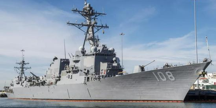 中秋节当天美舰擅闯我西沙群岛领海 被我军警告驱离