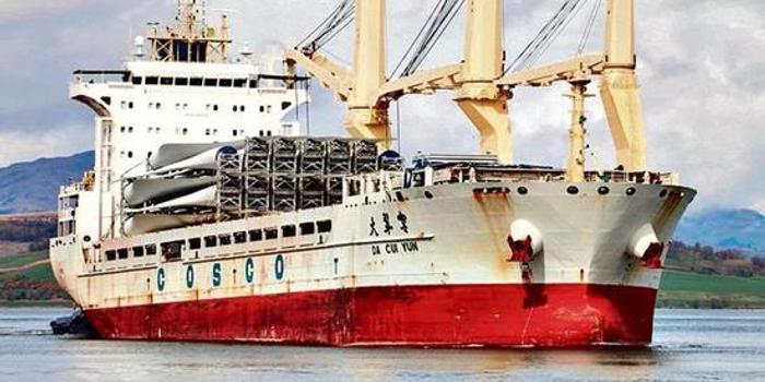 印媒:印度海关扣押中国货轮 因装载导弹发射装置