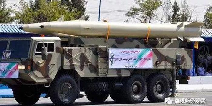 伊朗展示新型制導炸彈 中國產殲7戰機掛彈出境(圖)