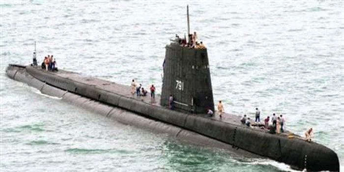 台军74岁古董潜艇翻修后重返部队 还将继续服役10年