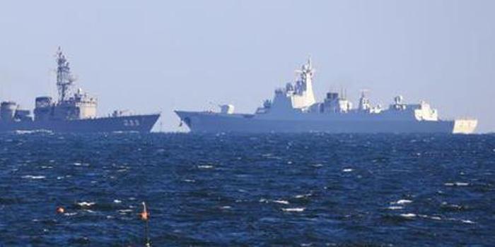10年之后再访日本 中国海军早已不用再羡慕海自舰艇