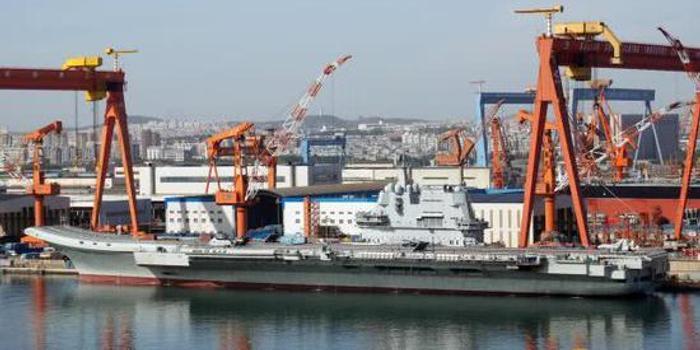 中国国产航母服役在即 印急了:我们船厂到底磨叽什么