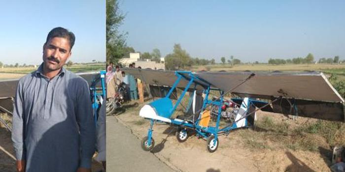 新疆11选5_巴基斯坦农民自制飞机上天后被捕 网友吵翻(图)