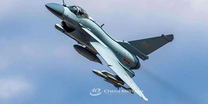 解放軍殲10B掛載鷹擊91導彈曝光 或接班蘇30這一任務