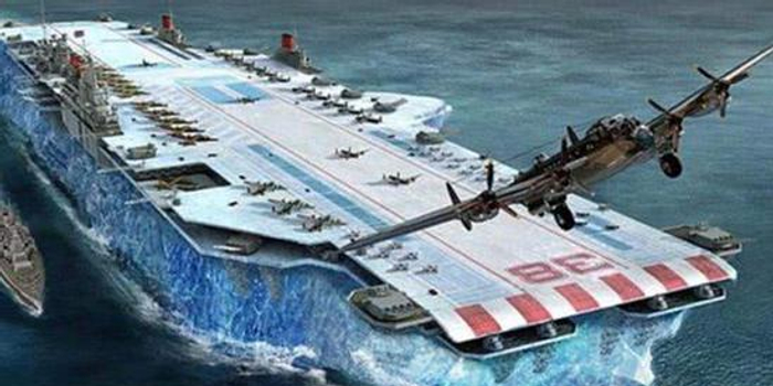 全球奇葩武器大盘点:用冰造航母 用母鸡给核弹保暖