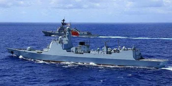 美英霸占别国岛屿 中俄海军可以联手还击
