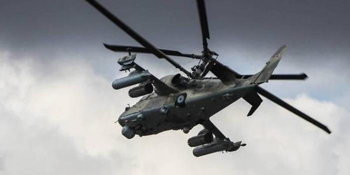 俄军直升机挂射程100公里巡航导弹 在叙利亚实战测试