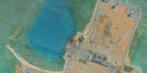 大自然的鬼斧神工 中国南海华阳礁最新照片曝出
