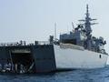 美军波斯湾扫雷演习 日本海自扫雷母舰性能超美国