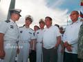 杜特尔特:曾准备登中菲争议岛屿插国旗 但中国不让
