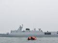 """中国海军黄石舰赴俄参加""""海洋之杯""""舰艇比赛"""