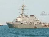 美国军舰再闯我西沙领海 被中国舰机警告驱离