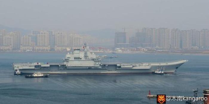 辽宁舰出海舰岛新型电子战装备亮相 国产航母却没有