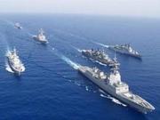 解放军台海军演警告台美:国家统一底线不容挑战