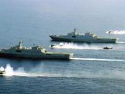 解放军在台湾以东海域海空联演 重点练联合火力打击