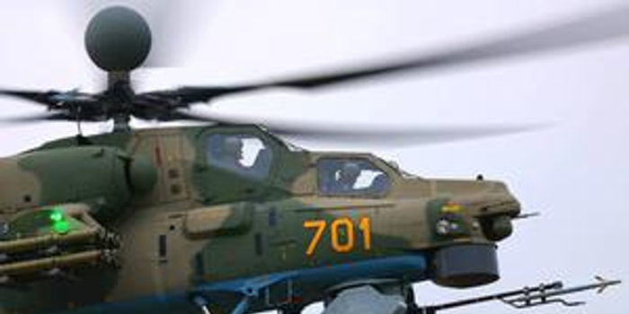 俄羅斯成功進行新型直升機機載多用途導彈實彈打靶
