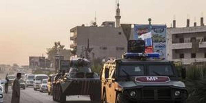 俄罗斯国防部:俄土军队在叙展开第九次联合巡逻