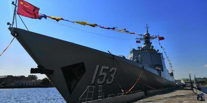 中国海军参赛队受邀参加俄波罗的海舰队海军节活动