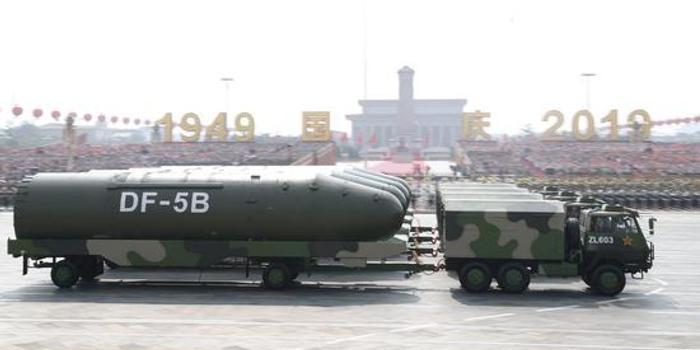 东风5B导弹多次亮相阅兵式 一起走进该方队了解下