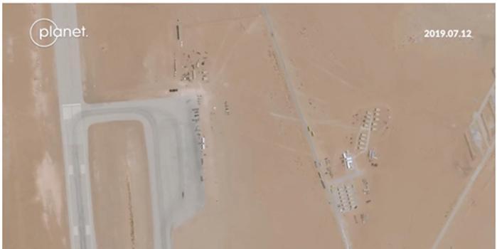 卫星曝光美军秘密增兵沙特 欲重返海湾地区最大基地