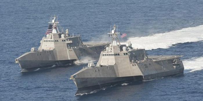 我军回应美舰擅闯南海岛礁:有决心有能力捍卫主权