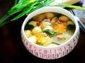 素食养生:萝卜丸子汤