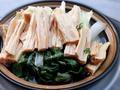 素食养生:小白菜腐竹煲
