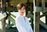 王珞丹SoFigaro封面大片 碧海蓝天下展现成熟女性气质