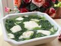 素食推荐:豌豆尖豆腐汤