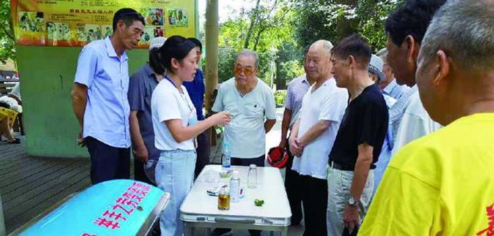象山丹城公园设摊宣传垃圾分类