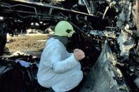 俄起火客机内部画面曝光 黑匣子已找到