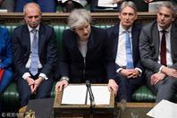 特雷莎的?#38597;?#21327;议未获英国议会通过:压倒性反对