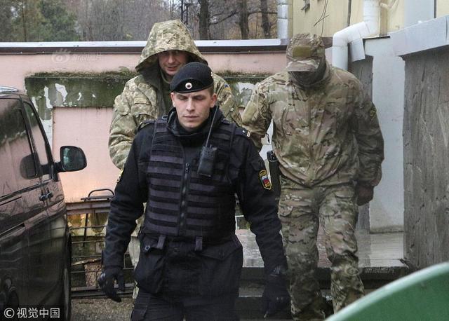 克里米亚批准拘留部分被扣乌军