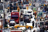 纽约市拟征交通拥堵费