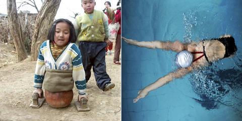她4岁截肢 15年后决战残奥会