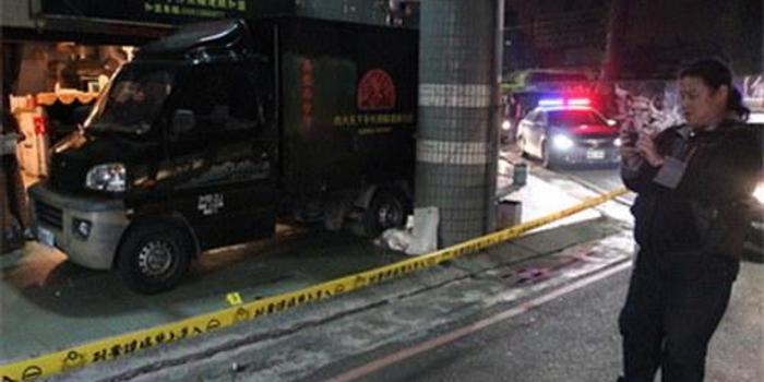 臺灣一大學附近清晨傳2聲槍響 只留血跡不見傷者